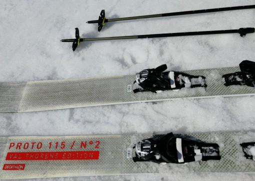 Prototyp freeride lyží