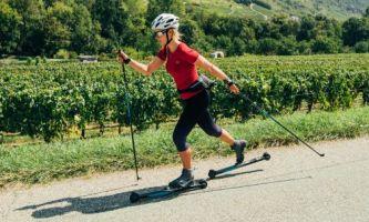 Kolečkové běžky jsou perfektní letní přípravou na běžky