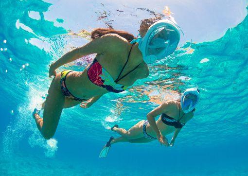 Užijte si šnorchlováání s pohodlnými plavkami