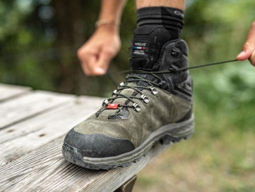 Trekové boty jsou velice odolné