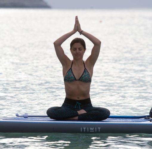 Relaxace a uvolněnéí během paddle jógy