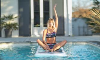 Paddle jóga je sport pro všechny