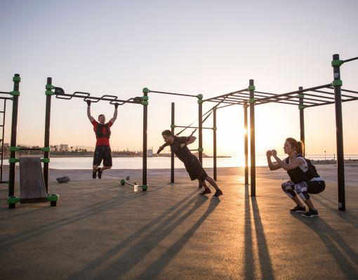 Venkovní cross tréninkový gym