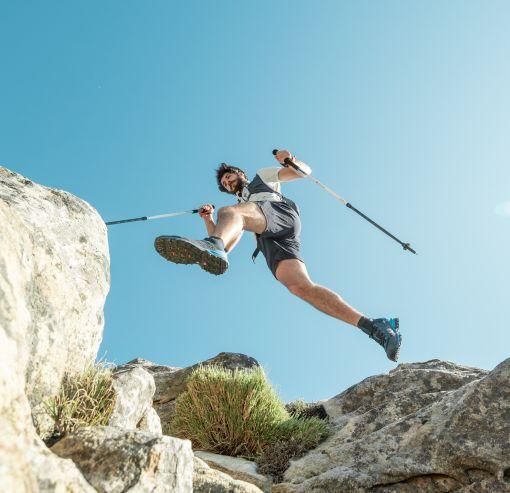 Fast hiking je aktivita ve vyšším tempu