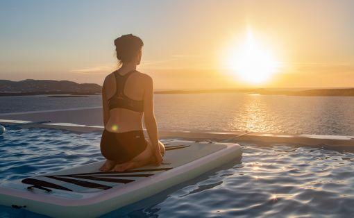 Oblíbené pozice na paddle jogu