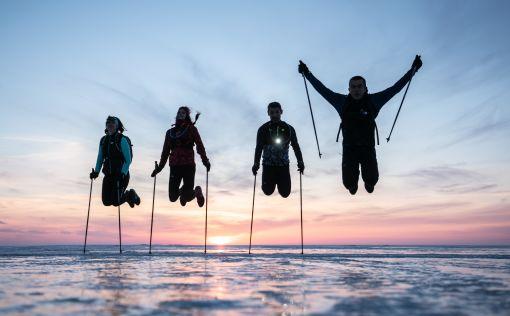 Radost z nordic walkingu