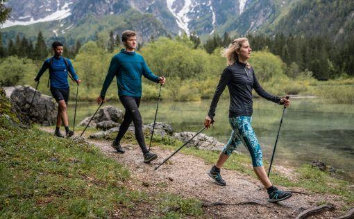 Nordic walking ve skupině