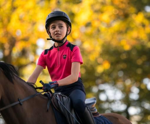 Jezdectví je pro děti velice záživný sport