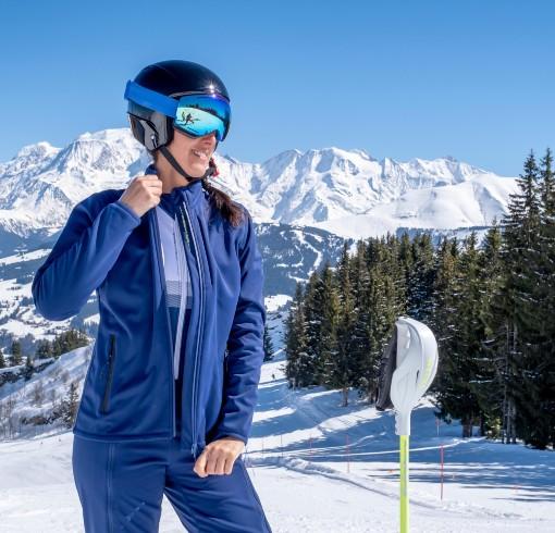 Outfit na lyžování