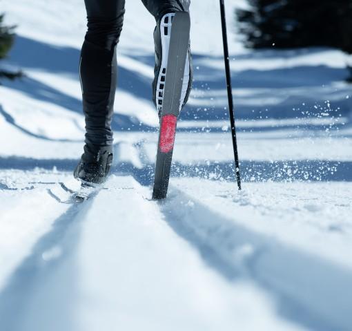 Běh na lyžích ve stopě