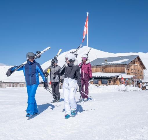 Příprava na lyžování