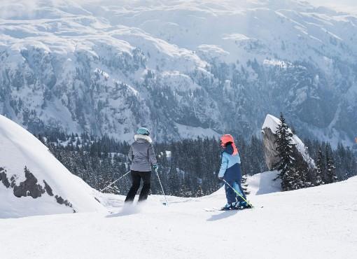 Rodinné lyžování