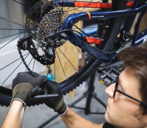 Péče o řetěz kola