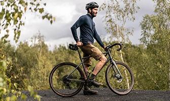 cyklista v přírodě