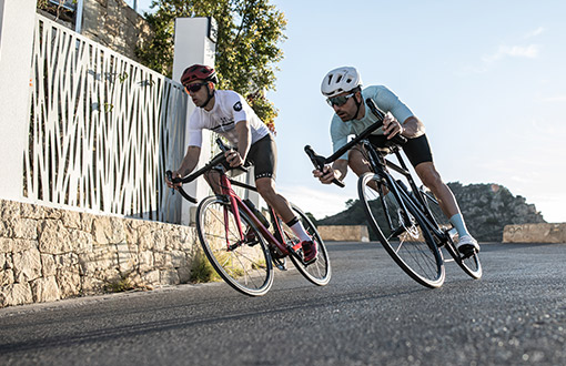 silniční cyklisti