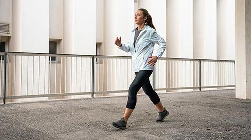 sportovní chůze ve městěě