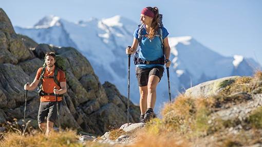 turisté na horách