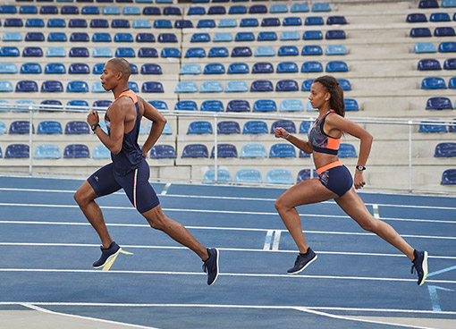 atletické běžkyně