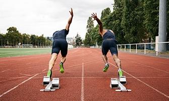sprinteři na startu