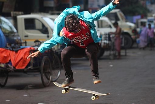 triky na skateboardu