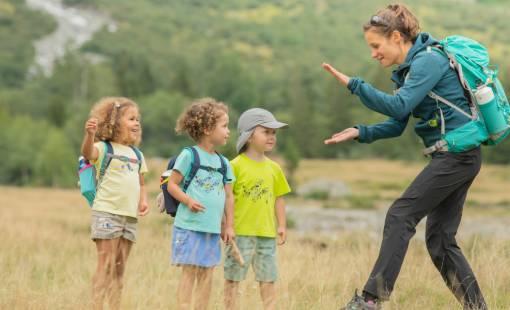 turistika s dětmi