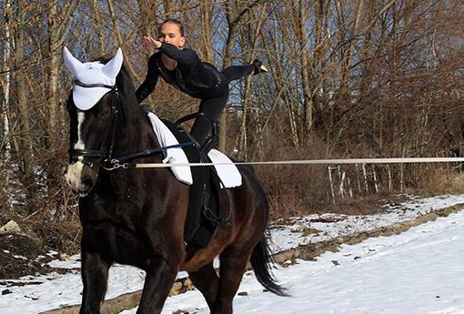 akrobatka na koni