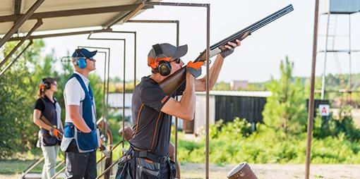 ochranné pomůcky při sportovní střelbě