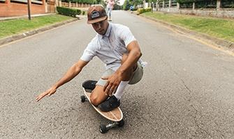 surf skateboarding
