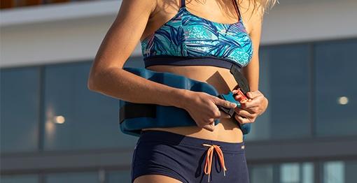 aquapásy na cvičení v bazénu