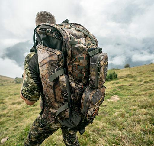 velký lovecký batoh