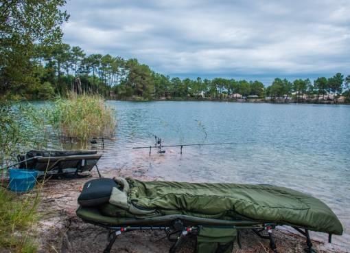 příslušenství na vícedenní rybolov