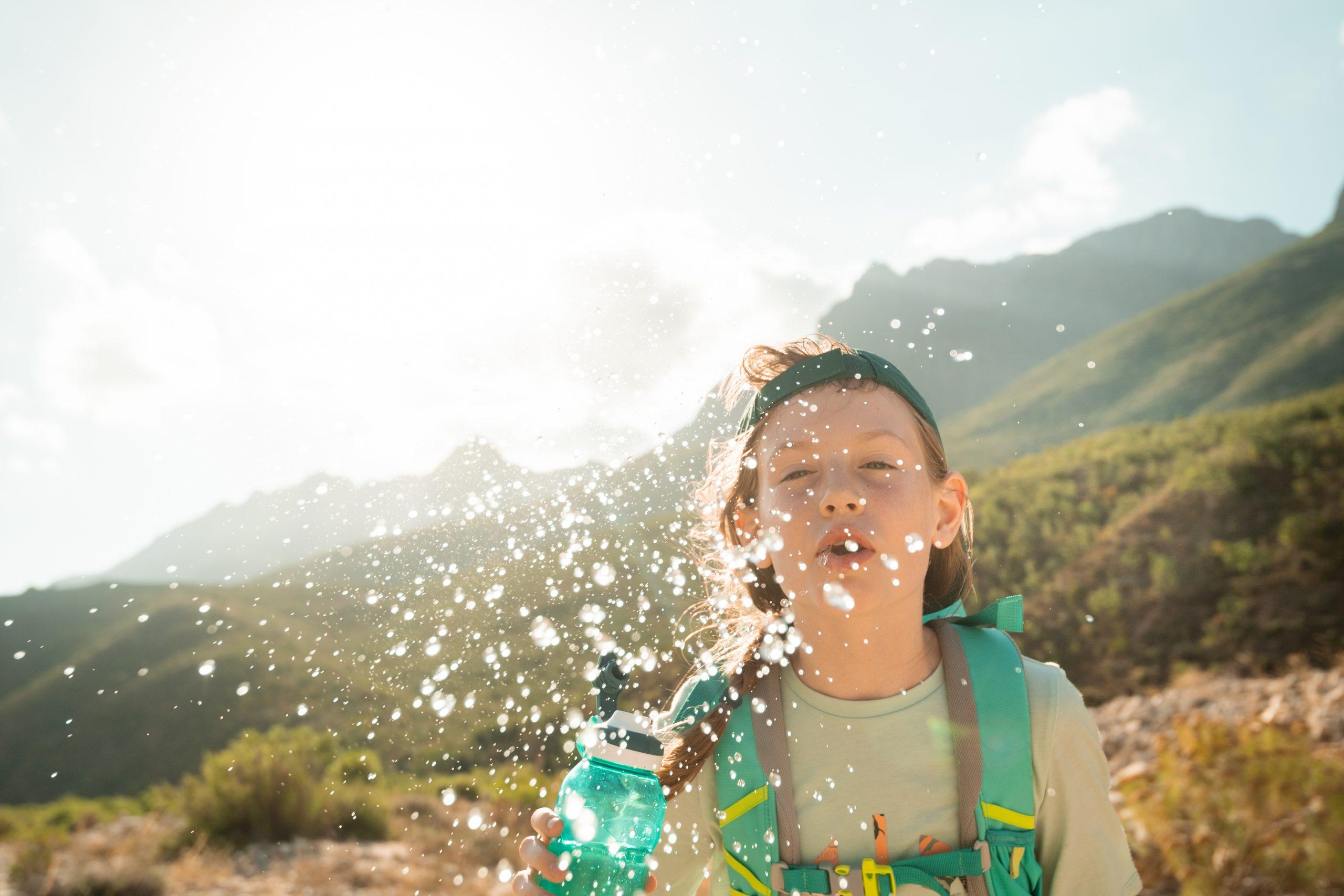 hydratace na výletě