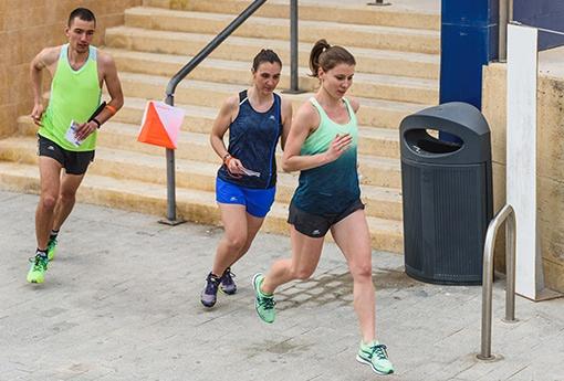 orientační běh ve městě