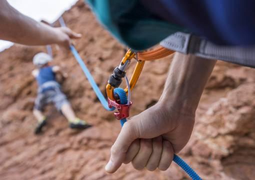 jištění při lezení